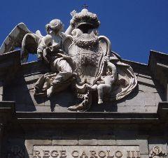Detalle Puerta de Alcalá